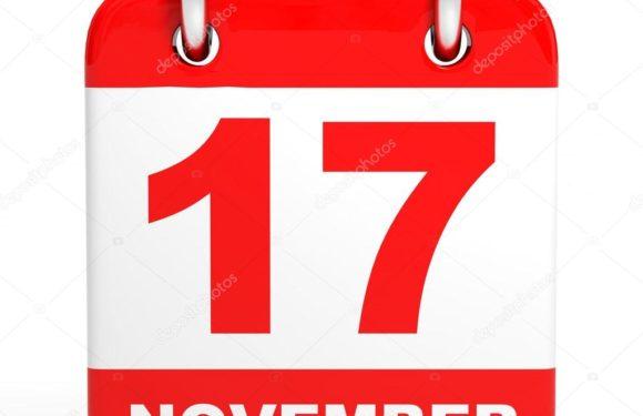 Какой сегодня праздник 17 ноября по церковному и светскому календарю