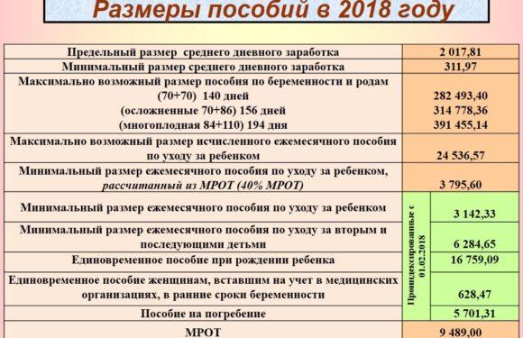 Минтруд предложил индексировать пособия, компенсации, выплаты и ЕДВ на 3,4% с 1 февраля 2019 года