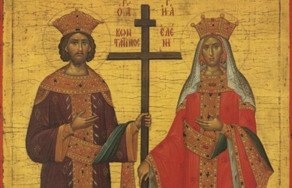 3 июня День равноапостольных царя Константина и матери его царицы Елены