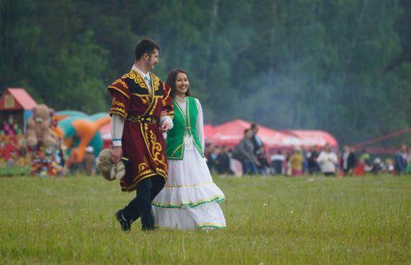 Сабантуй — самый известный национальный праздник