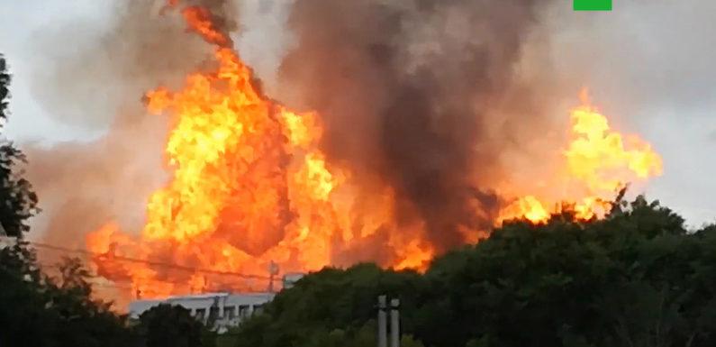 Пожар в Мытищах на ТЭЦ. Последние новости