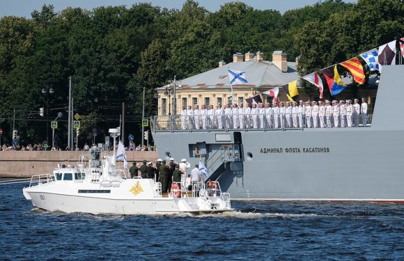 Программа мероприятий на День ВМФ в Санкт-Петербурге 28 июля